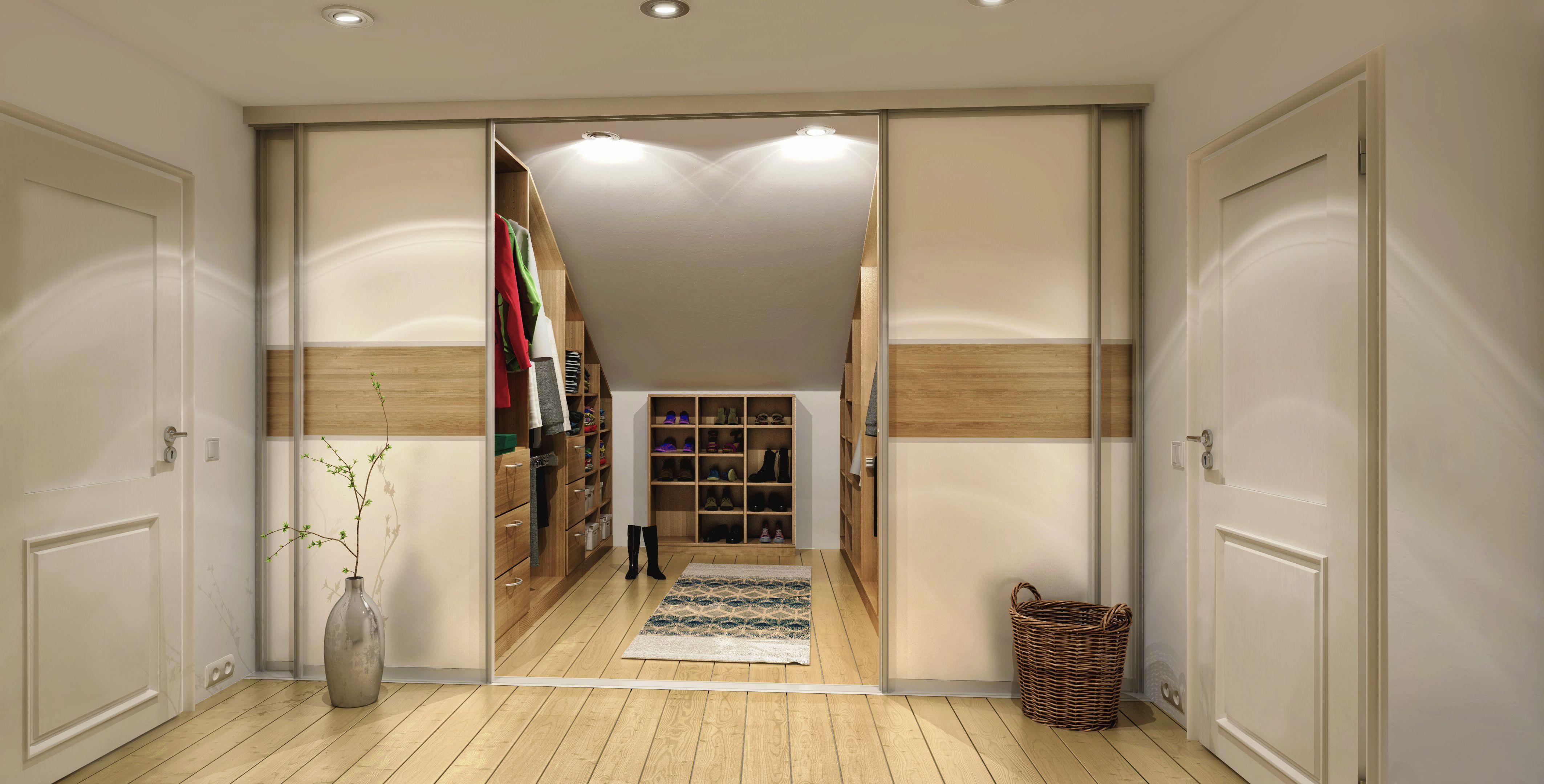 Begehbarer Kleiderschrank Für Dachschräge