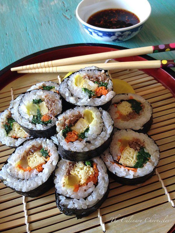 Kimbap – Korean Seaweed Rice Rolls