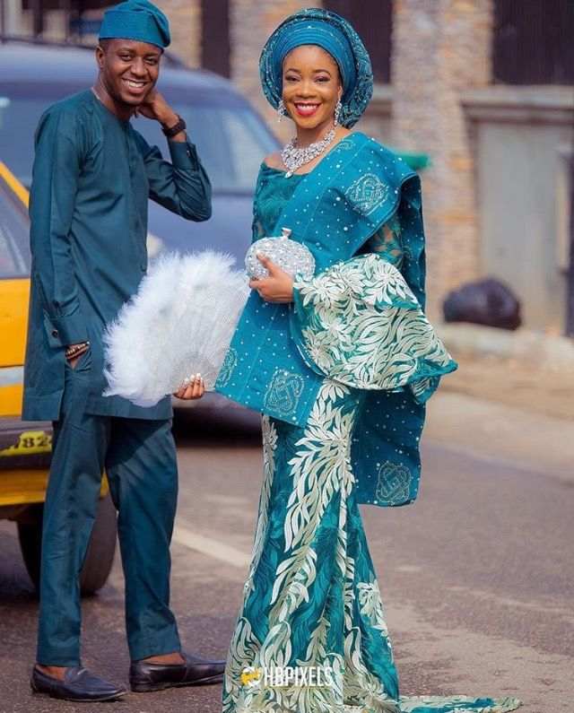 Nigerian Traditional Wedding Dresses: Afican Beauty