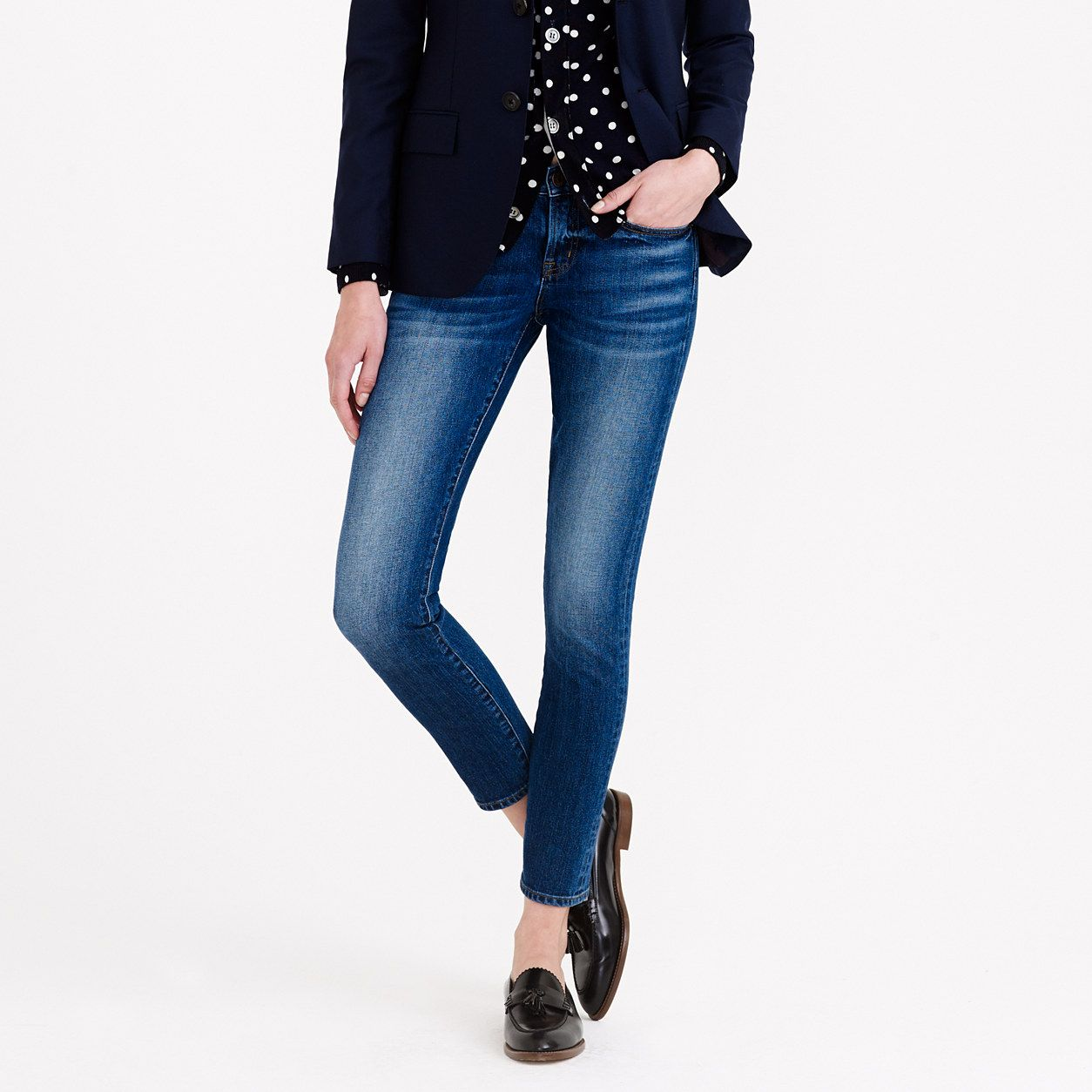 Toothpick Japanese selvedge jean in hulton wash : Toothpick | J.Crew