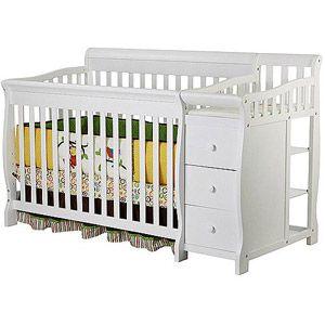 Baby Cribs Convertible Crib Crib Changing Table Combo