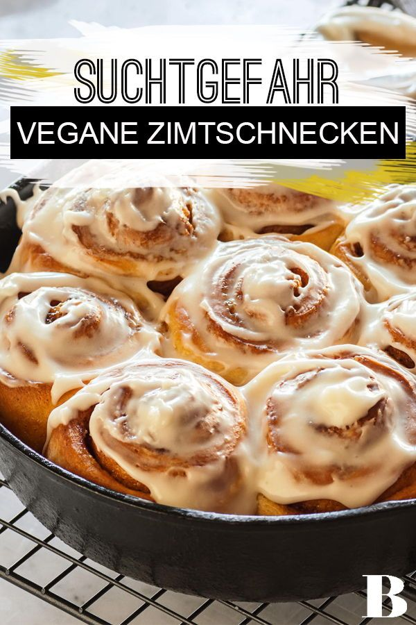 Photo of Vegane Zimtschnecken