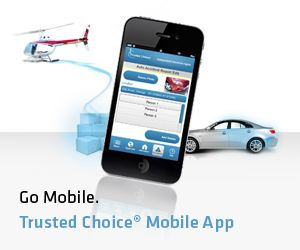 The Trusted Choice mobile app- This helpful app provides ...