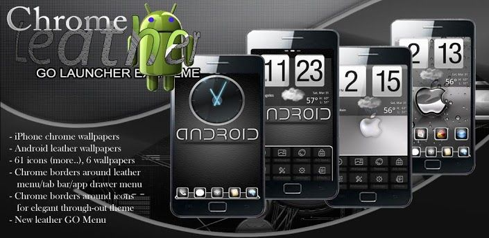 Go Launcher Leather theme v1.0 apk Requirements Android 2