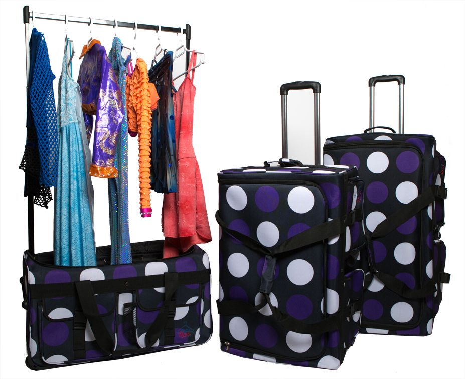 b3eae13fc341 Rac n Roll! Rolling suitcase or piece of luggage. A GARMENT RACK POPS OUT!  Creating a MOBILE DRESSING ROOM!. CUSTOM AIRBRUSH DESIGN at ...