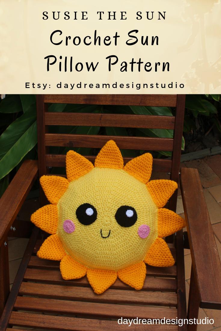 Free Sunshine Crochet Pattern Kawaii Cuddler™ | 3amgracedesigns | 1102x735