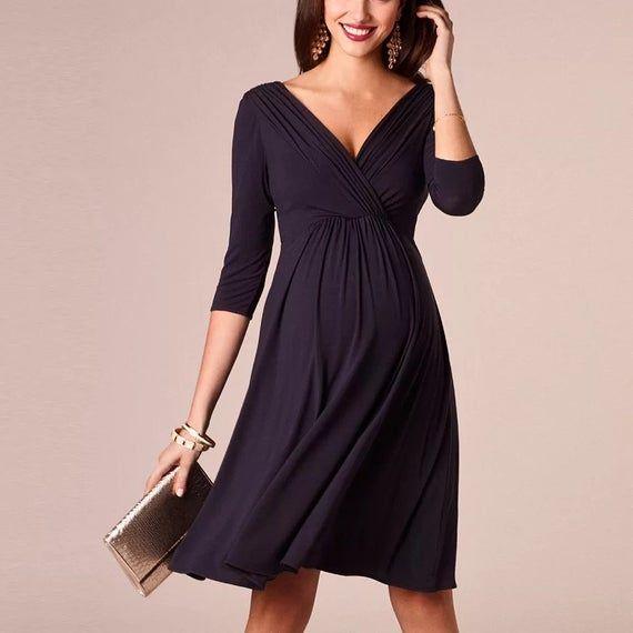 Women Maternity Dresses Pregnancy Breastfeeding Nursing Dress For Pregnant Women