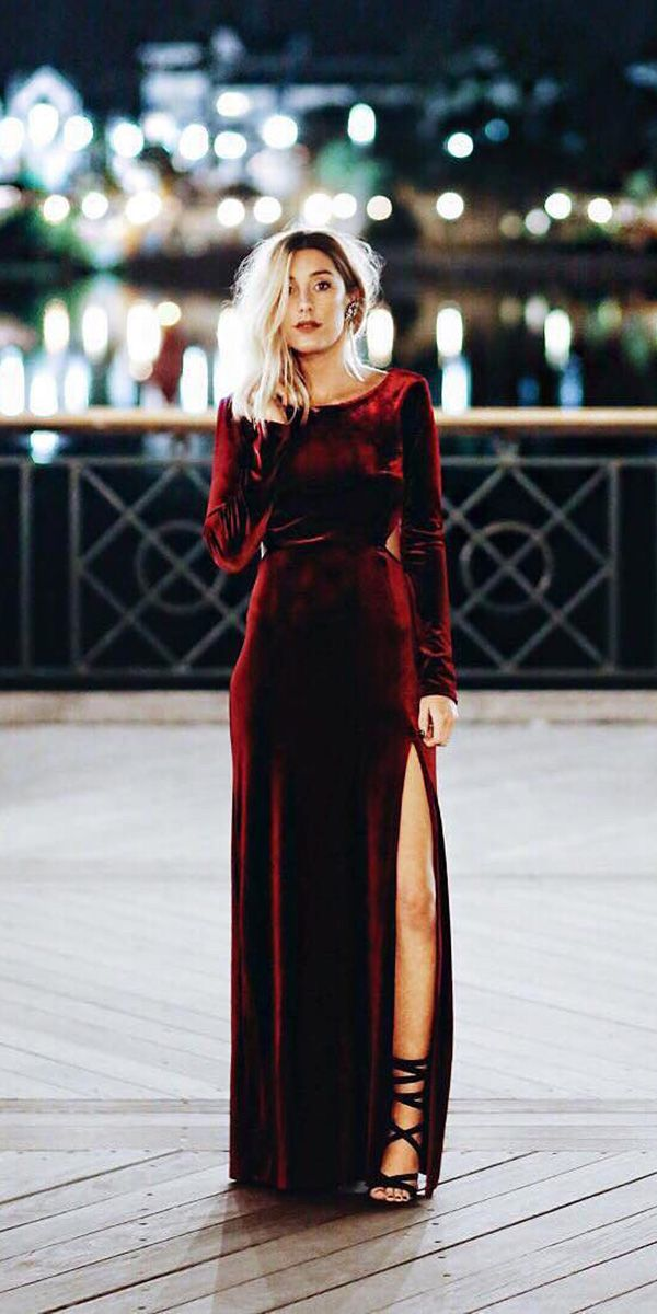 721c84d142b 27 Wedding Guest Dresses For Every Seasons   Style ❤ wedding guest dresses  with long sleeves for winter fall lulus ❤ See more  ...
