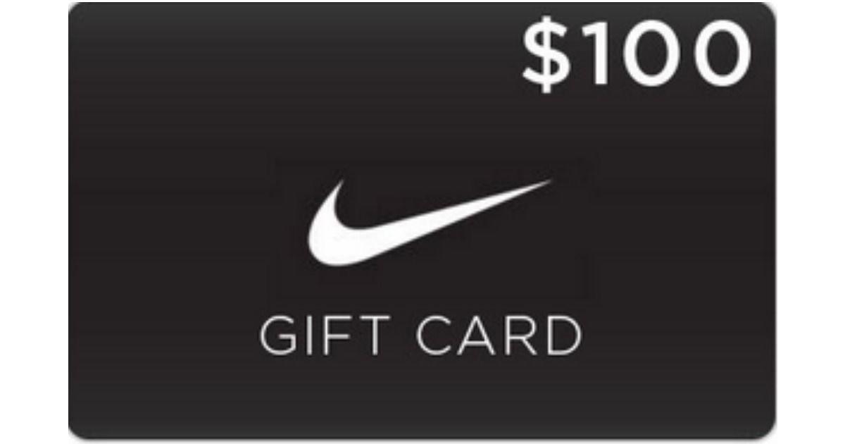 100 $ Gratuit Nike Carte Cadeau