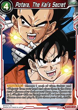 Potara The Kai S Secret Dragon Ball Super Dragon Ball Kai