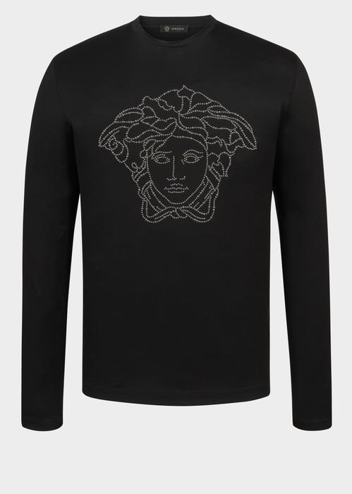 6401cd39cc VERSACE Medusa Long Sleeve T-Shirt. #versace #cloth #medusa long sleeve  t-shirt