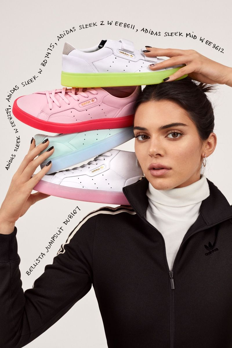 Kendall Jenner is a Sneaker Head in adidas Originals