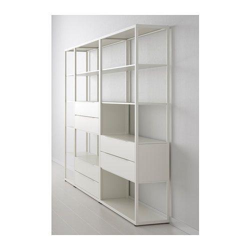 Regalsystem wandschiene ikea  FJÄLKINGE Regal mit Schubladen IKEA | Mood Board | Pinterest ...
