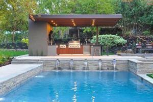 2014 Custom Home Design Awards Merit Winner, El Pintado Pool Pavilion   Custom Home Magazine
