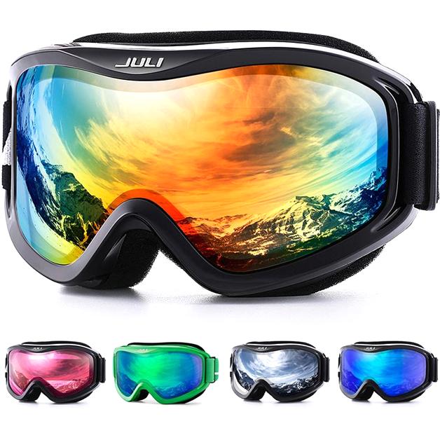 New Unisex Children Winter Snow Sports Goggles Ski Sunglasses Anti-UV Glasses