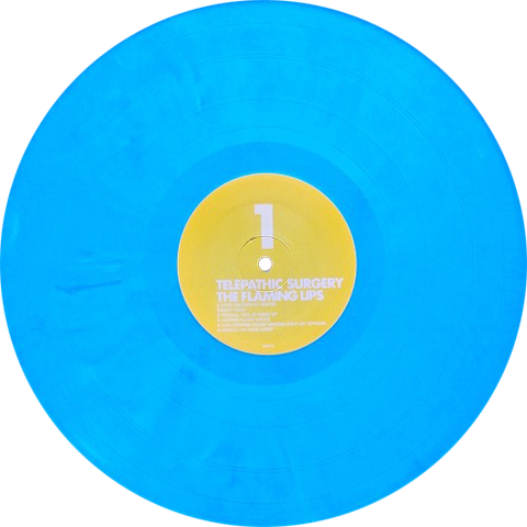 The Flaming Lips Telepathic Surgery Vinyl Records Vinyl Blue Vinyl