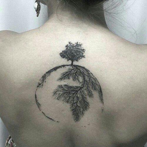 Stars Tumblr Clear Roots Tattoo Beautiful Tattoos Earth Tattoo