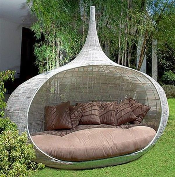Superb Garden Chair Set Part - 13: 45 Outdoor Rattan Furniture - Modern Garden Furniture Set And Lounge Chair