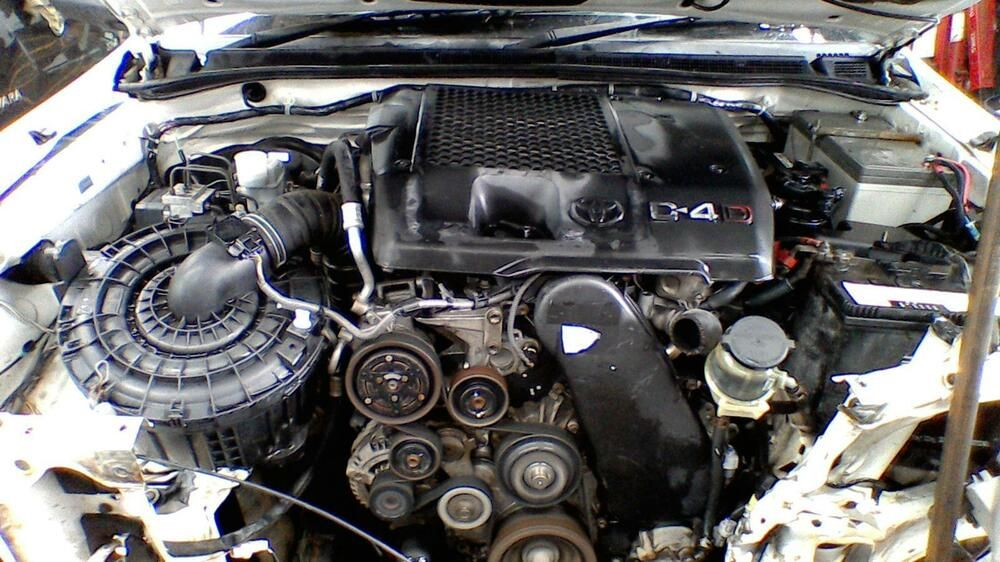 TOYOTA HILUX ENGINE DIESEL 3 0 1KD-FTV TURBO WATERCOOLED EGR TYPE 08