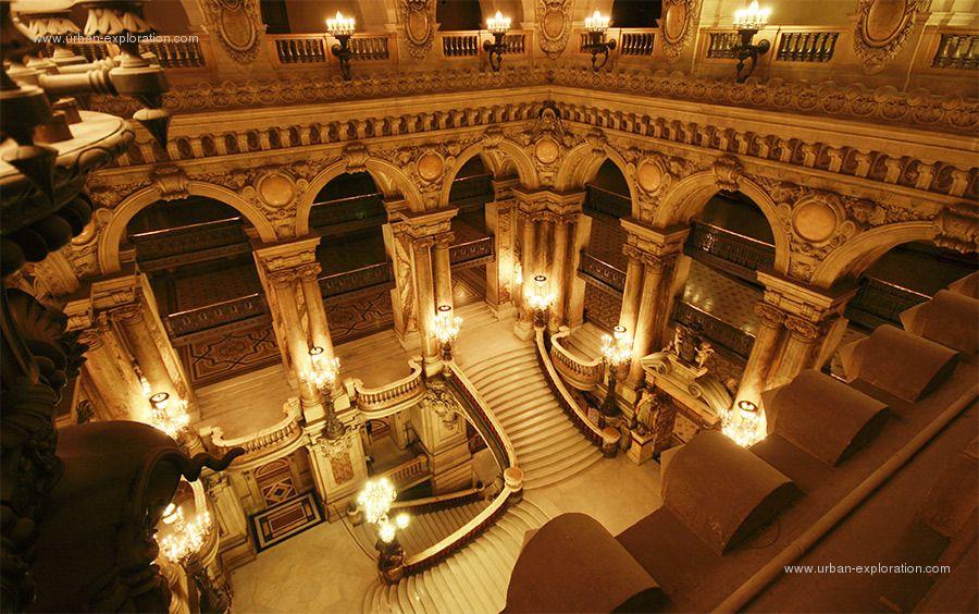 le grand escalier de l\'opéra Garnier   Paris   Pinterest   Opéra ...