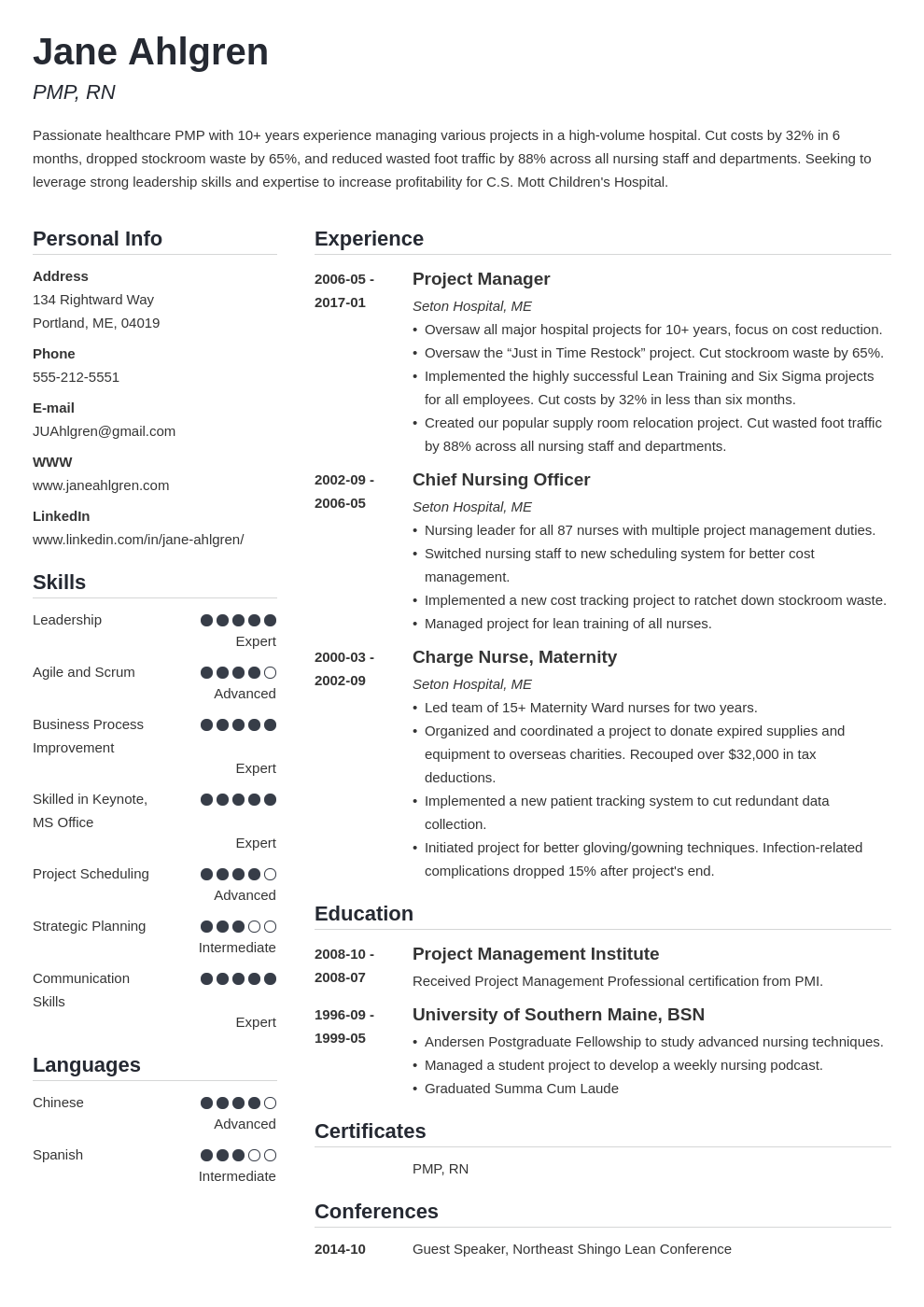 Plain Text Resume Example Template Simple Resume Examples Job Resume Examples Good Resume Examples