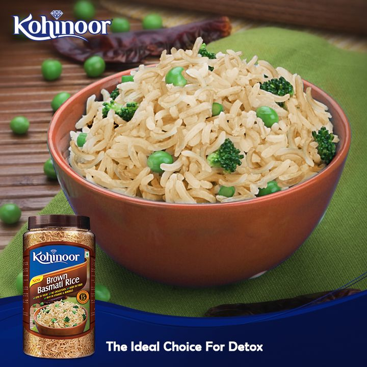 Try our Brown Basmati Rice to rejuvenate yourself after a taxing week of festivities.