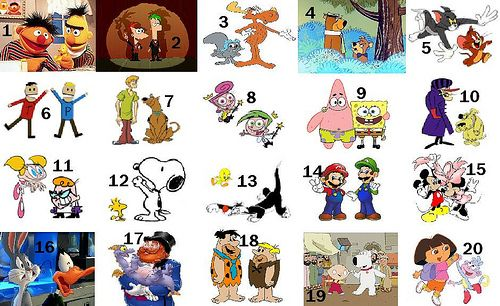 famous character pairs