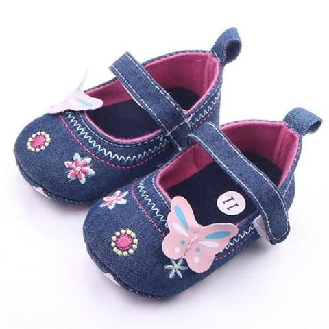 Toddler Butterfly Princess Baby Shoe From Touchy Style ...