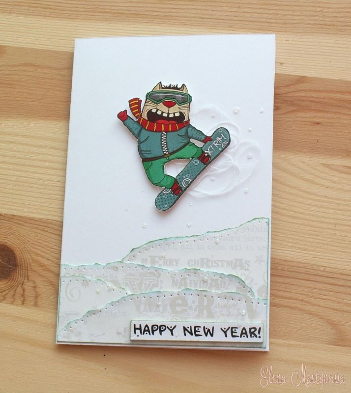 Special Day Cards: Итоги задания №85. Новый год в стиле CAS