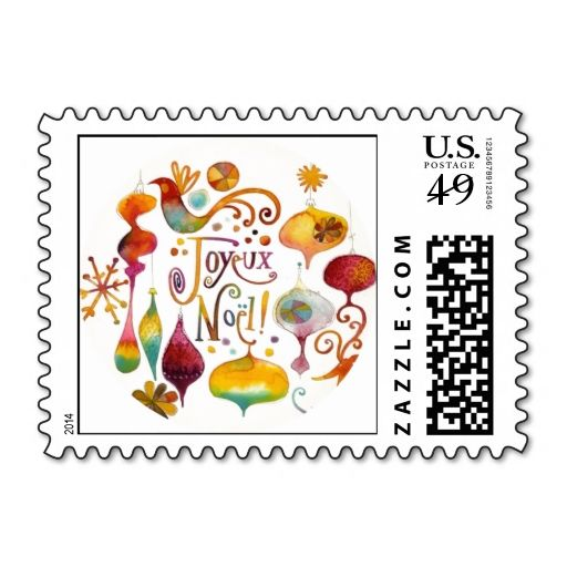 CUSTOM POSTAGE. This great stamp design is available for customization or ready to buy as is. Of course, it can be sent through standard U.S. Mail. Just click the image to make your own!