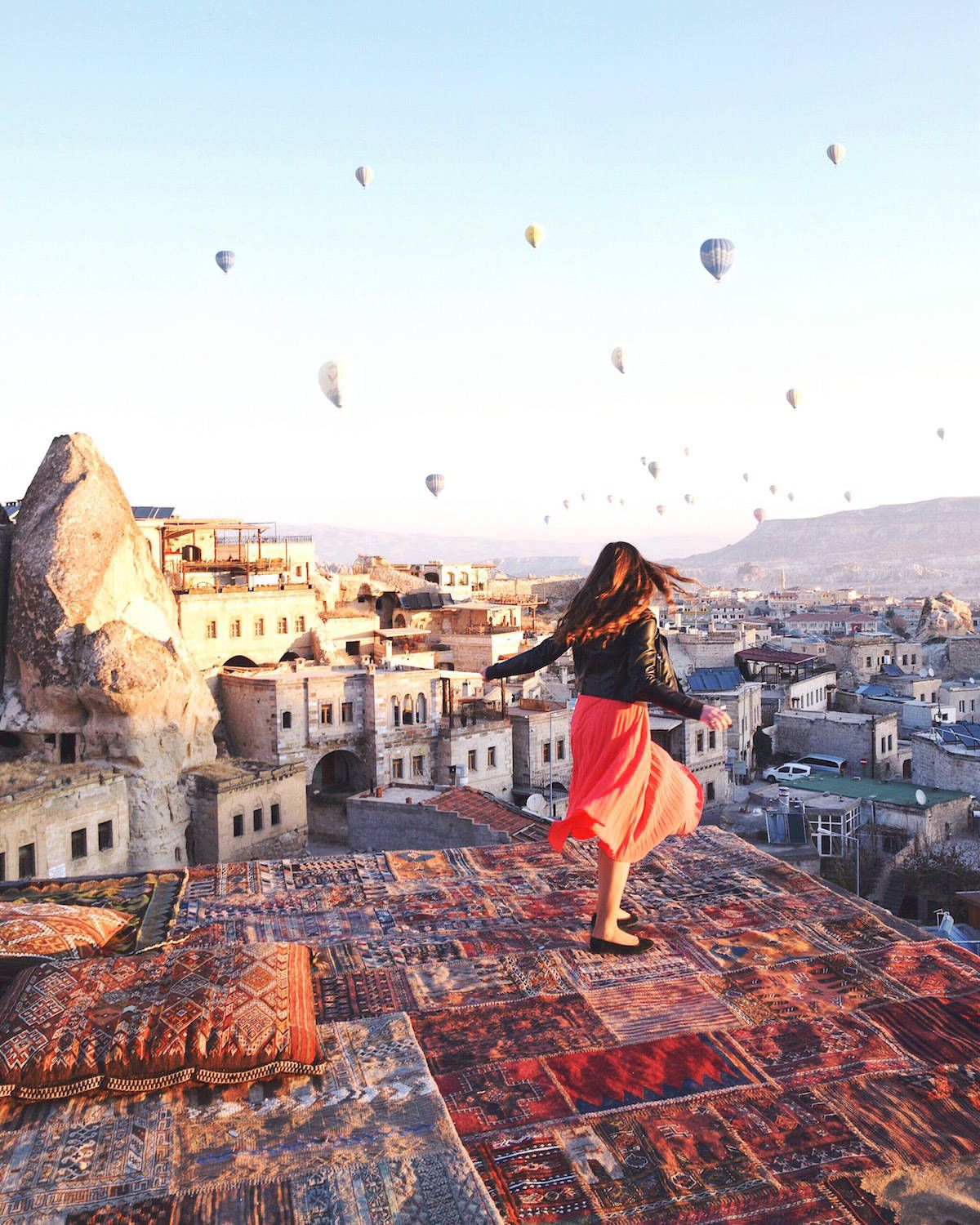 2020的Cappadocia Hot Air Balloon Flight