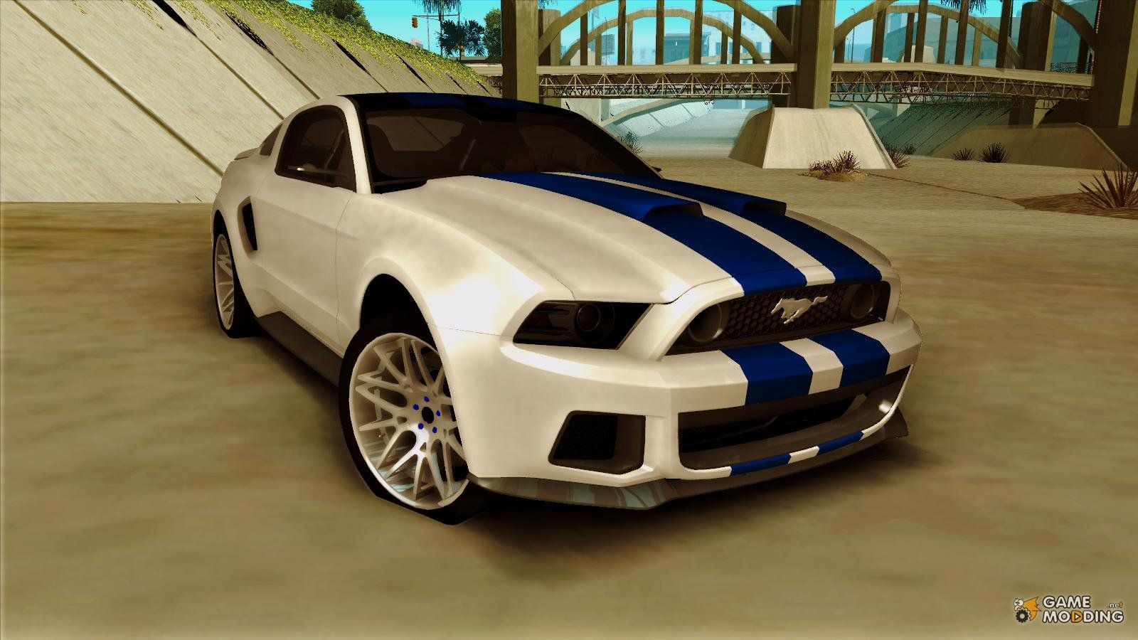 Ford mustang 2013 need for speed edition for gta san andreas