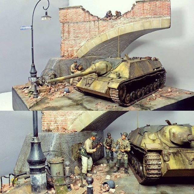 Jagdpanzer IV L/70(V) 1/35 Dragon. Unknown Modeler