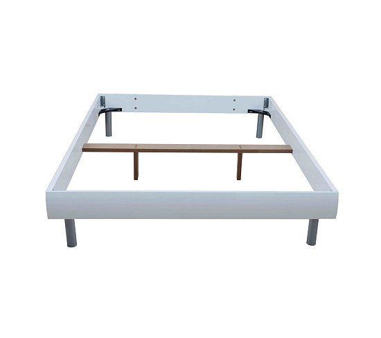 Lits - Cadre de lit 140x190 cm SHADOW blanc | Tosc familia ...