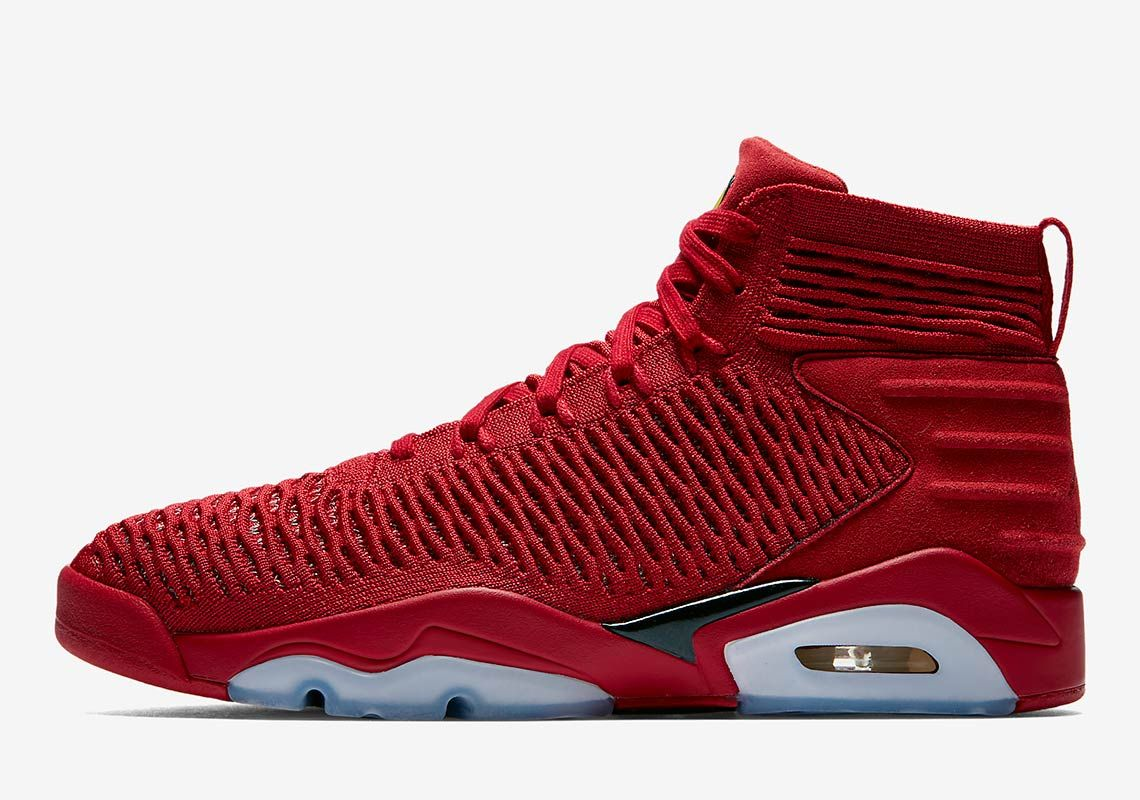 6b1c9044b79e The Jordan Flyknit Elevation Last Shot Is Releasing In All Red Air Jordan Vi