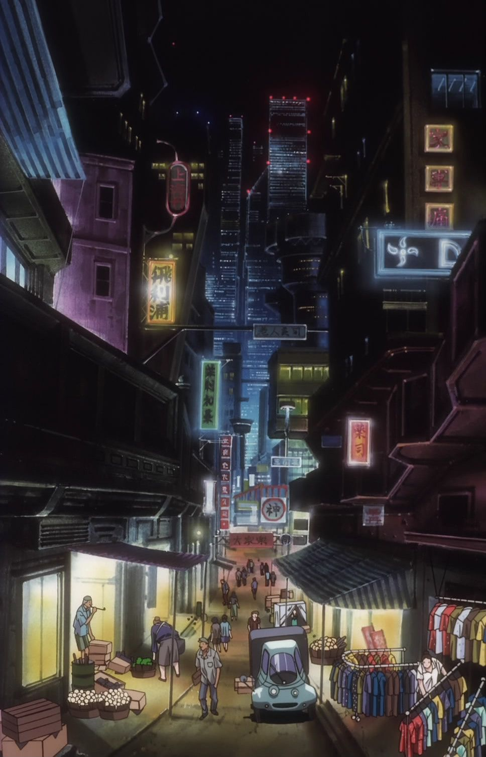Dystopian City Research Cyberpunk Atmosphere Cowboy Bebop
