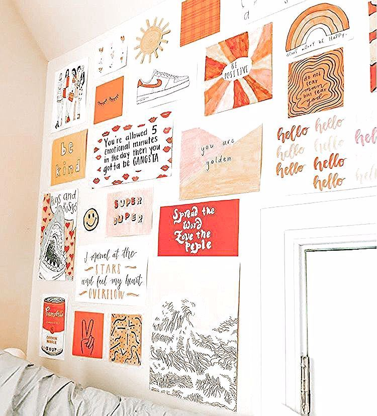 decoracion de interiores salas chicas in 2020 | Dorm room ... on Room Decor Paredes Aesthetic id=54631