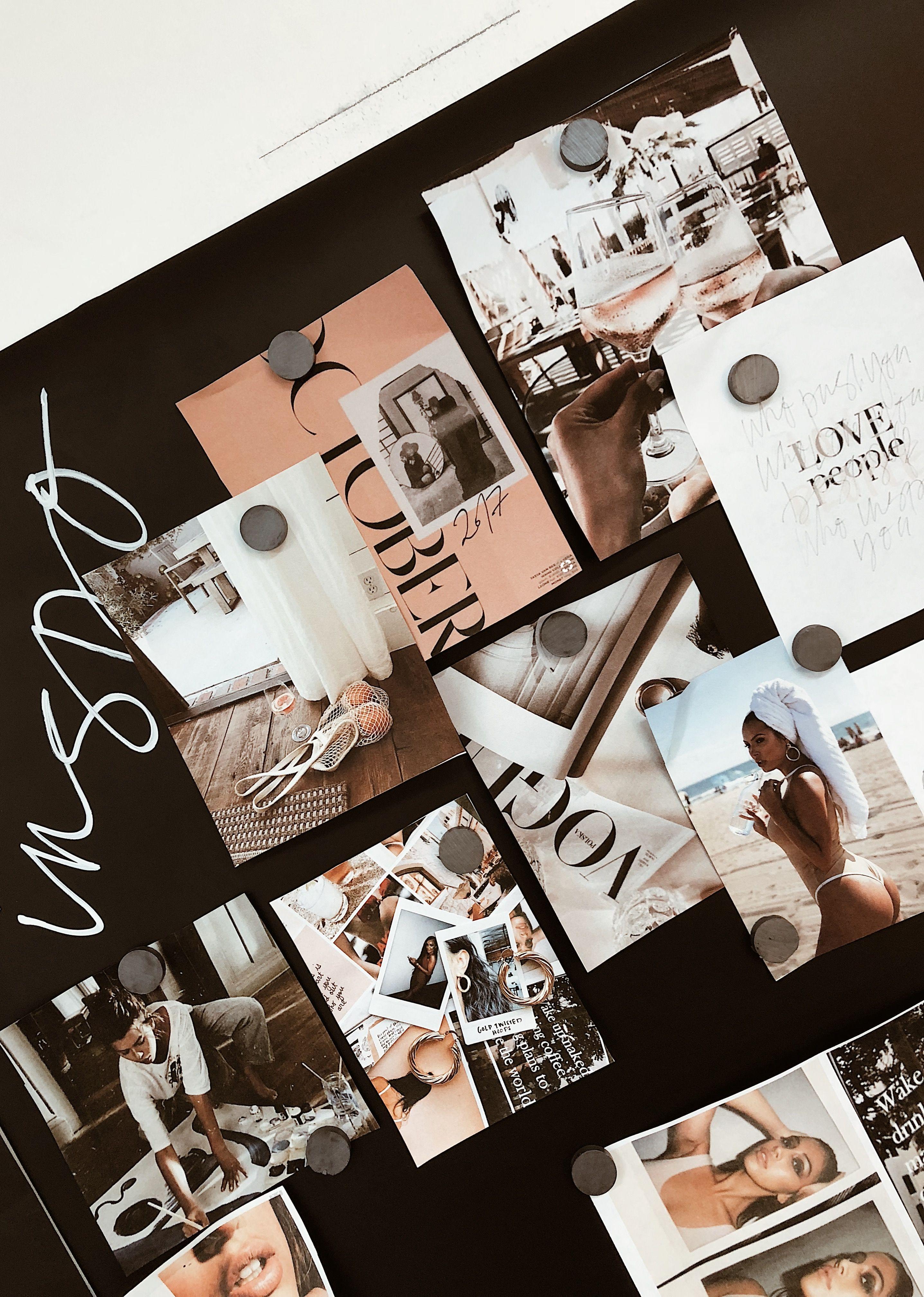Tatiana Soash Inspo Mood Boarding Vision Board Editorial