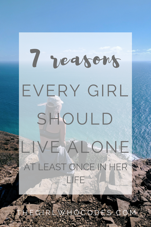 Why every woman should live alone marriage