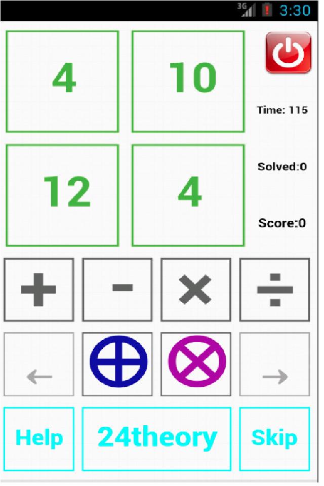 Number Games App