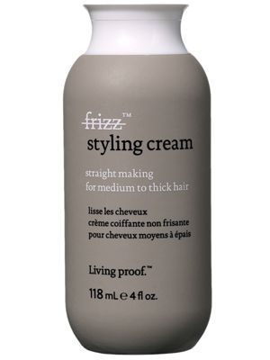 Living Proof No Frizz Styling Cream Straight Making For Medium To Thick Hair Styling Cream Thick Hair Styles Thick Frizzy Hair