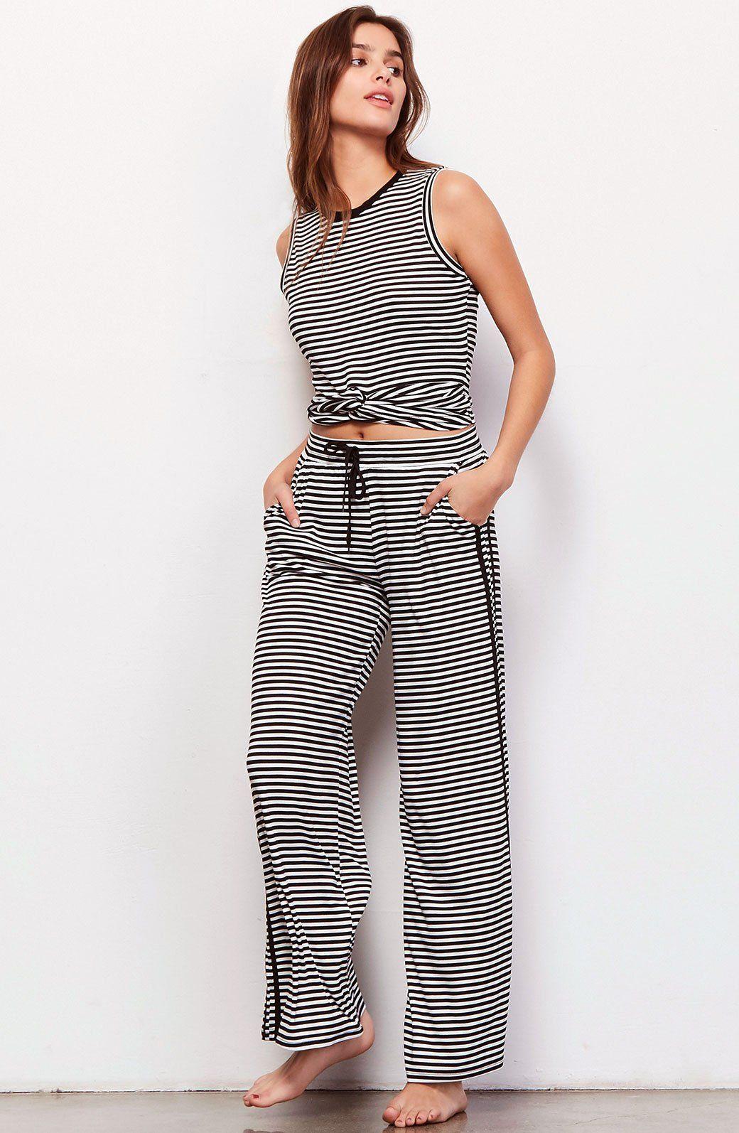 Eavan Striped Set - BB Dakota #lounge #loungewear #loungeset