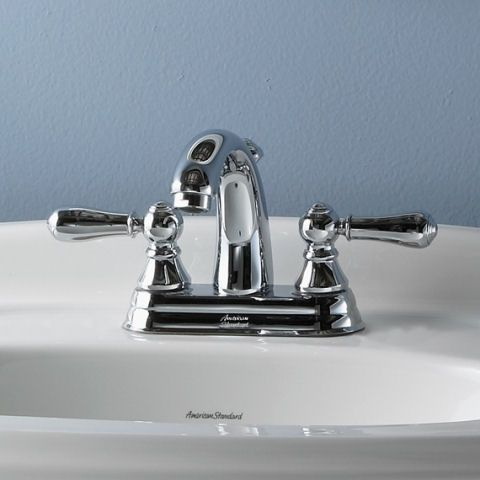 Williamsburg 2 Handle 4 Inch Centerset High Arc Bathroom Faucet