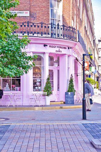 london, travel, uk, britain, pink, pastel, pretty, cute, cupcake, peggy, porschen