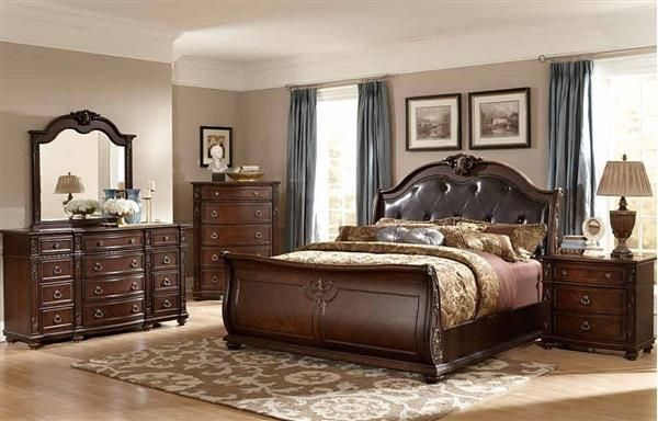 Home Elegance Hillcrest Manor Master Bedroom Set King Bedroom Sets Sleigh Bedroom Set Bedroom Set