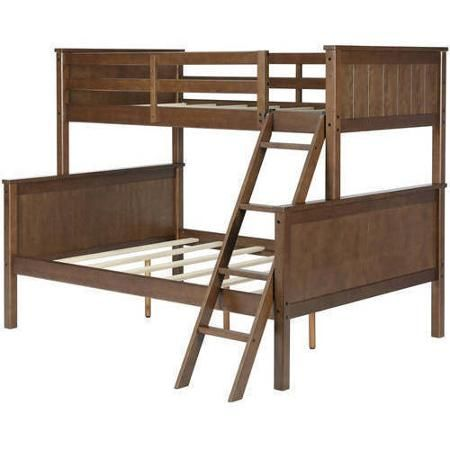 Better Homes and Gardens Ashcreek Twin/Full Bunk Bed, Mocha ...
