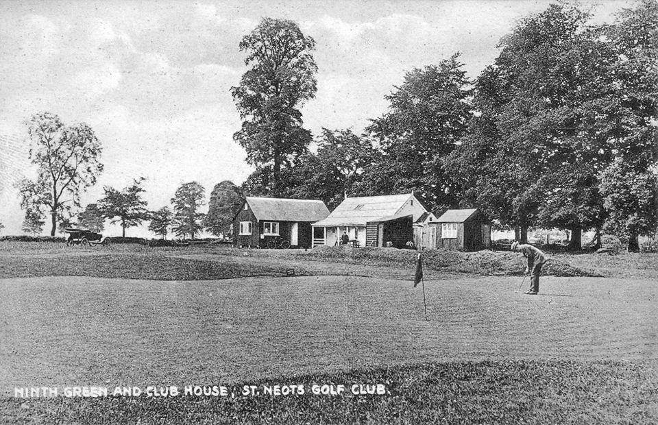 Ninth Green And Club House At St Neots Golf Club Stneotsgolfclub