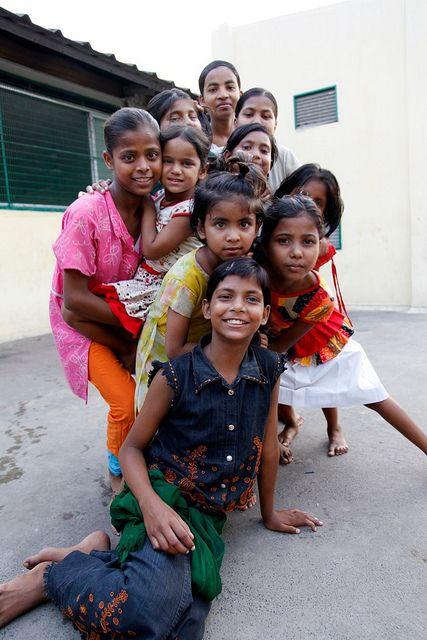 Calcutta - Rainbow children