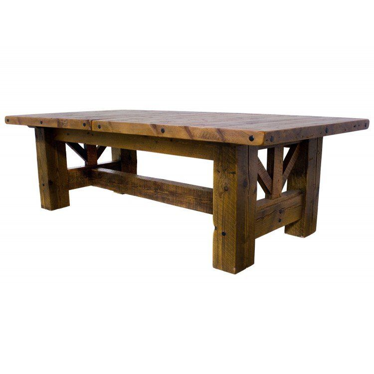 Harkins Cerritos Recliners: Timber Frame Gable Barn Wood Dining Table (With Images