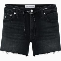 Photo of Calvin Klein Denim-Shorts mit Taille zum Binden 33 Calvin Klein
